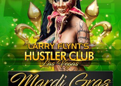 Mardi Gras Party at Hustler Las Vegas